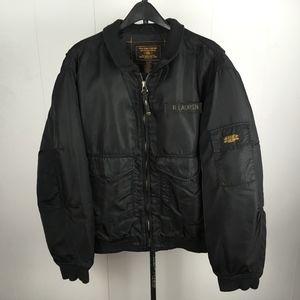 RL Polo Jeans Co. Auth. Military Surplus Zip-Up